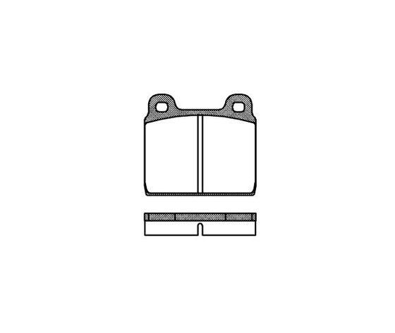 Pastiglie freno cod. FERODO  FDB11X - Remsa 000220