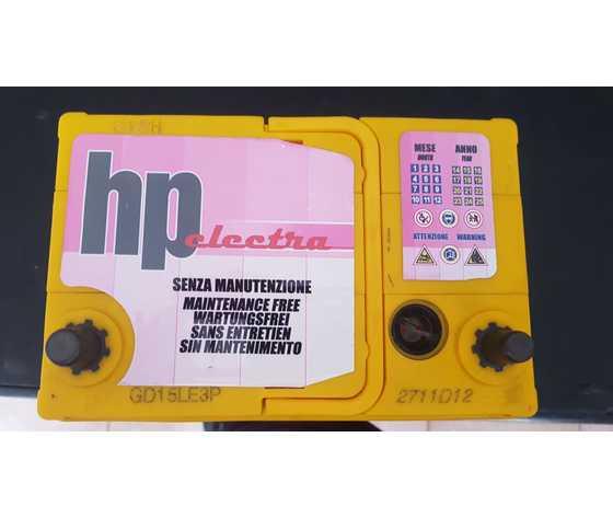 Batteria HP by SCAINI  Japan poli piccoli SX 12v 40AH 300A EN SCS53522E