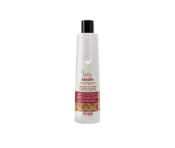 Seliar Keratin Shampoo Post Trattamento - Capelli Colorati e Trattati Chimicamente - 350 ml - Echosline