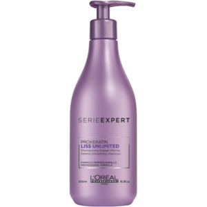 L'OREAL PROFESSIONNEL SHAMPOO, SERIE EXPERT LISS UNLIMITED
