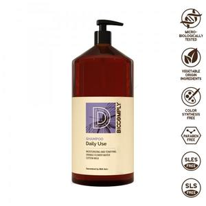 BIOCOMPLY DAILY USE SHAMPOO VEGETALE NATURALE IDEALE USO FREQUENTE CAPELLI 1L