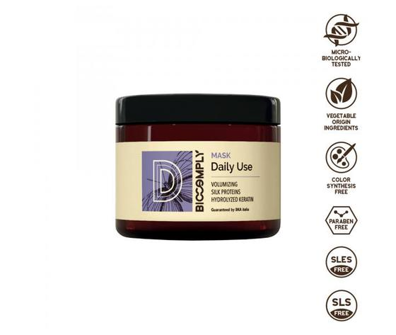 BIOCOMPLY DAILY USE MASCHERA VEGETALE NATURALE MASK IDEALE USO FREQUENTE 500ML