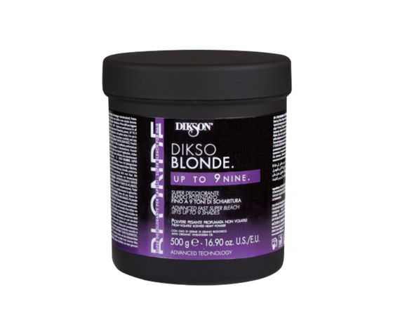 POLVERE DECOLORANTE DIKSO BLONDE UP TO 9NINE 500gr