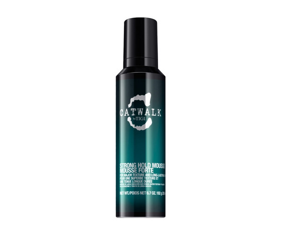 MOUSSE PER CAPELLI-CATWALK CURLESQUE STRONG HOLD MOUSSE TIGI 200 ml