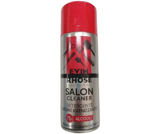 """EVINRHOSE SALON CLEANER - DETERGENTE AZIONE IGIENIZZANTE """"75% ALCOOL"""" 400 ml"""