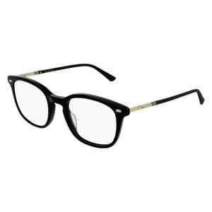 Montatura da vista Gucci GG0390O 001-black-gold-transparente 50/21
