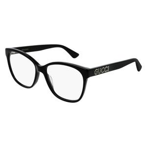 Montatura da vista Gucci GG0421O 001-black-black-transparente 55/16