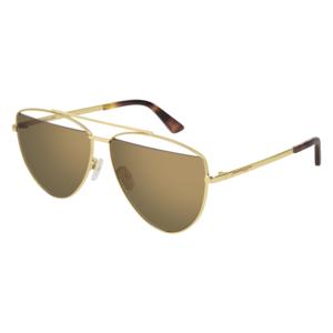 Occhiale Sole MCQ 0157S 002-gold-gold-brown