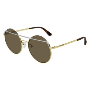 Occhiale Sole MCQ 0164S 002-silver-gold-brown