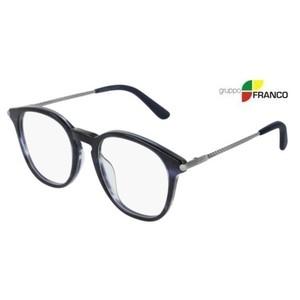 Occhiale vista BOTTEGA VENETA BV0200O 004 BLUE STRIPED 50