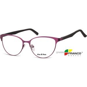 Occhiale da vista Alex & Ross 980 colore F viola  52/18