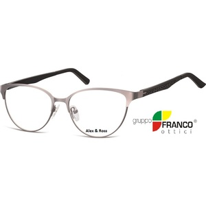 Occhiale da vista Alex & Ross 980 colore B grigio  52/18