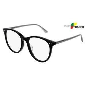 Occhiale vista BOTTEGA VENETA BV0215O 001 BLACK GREY 53