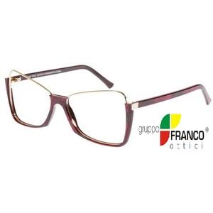 Occhiale da vista Andy Wolf 5033 colore H Bordeaux 56/15