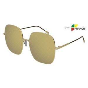 Occhiale sole BOTTEGA VENETA BV0202s 003 GOLD BROWN MIRROR 58