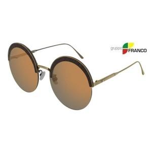 Occhiale sole BOTTEGA VENETA BV0208S 002 BRONZE GOLD MIRROR 60
