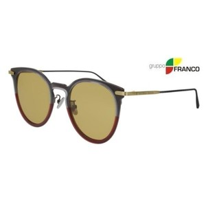 Occhiale sole BOTTEGA VENETA BV0211S 004 GREY BROWN YELLOW 49