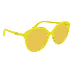 Occhiale da sole Gucci GG0257S 004-yellow-yellow-yellow