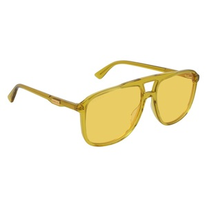 Occhiale da sole Gucci GG0262S 005-yellow-yellow-yellow