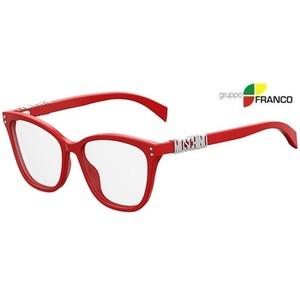 MONTATURA DA VISTA MOSCHINO MOS500 C9A RED 52