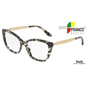 Occhiale da vista Dolce & Gabbana DG3280 colore 911 CUBE BLACK/GOLD 54/15