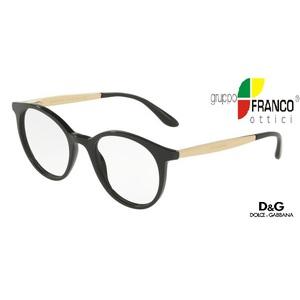 Occhiale da vista Dolce & Gabbana DG3292 colore 501 black-gold 48/20