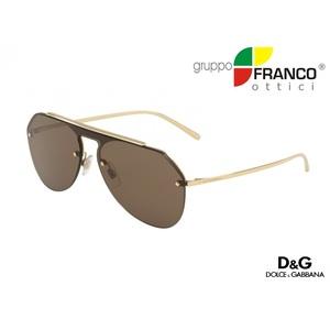 Occhiale da Sole Dolce & Gabbana DG2213 colore 02/73 gold 34/13