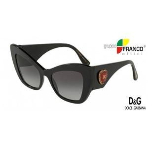Occhiale da Sole Dolce & Gabbana DG4349  colore 501/8G black 54/20