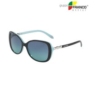 Occhiale da sole Tiffany & Co. TF4121B colore 80559S black/blue  55/16