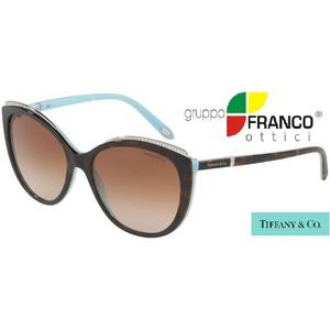 Occhiale da sole Tiffany & Co. TF4134B colore 81343B Havana/brown Shaded 56/17