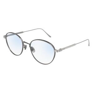 Occhiale da vista Cartier CT0016O Colore 005-ruthenium-silver-tran 53