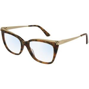 Occhiale da vista Cartier CT0033O Colore 003-havana-gold-transpa 53
