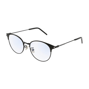 Occhiale da vista Saint Laurent SL 236/F Colore 001-black-black-transparente 52