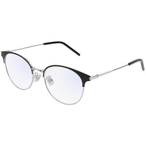 Occhiale da vista Saint Laurent SL 236/F Colore 002-black-silver-transparente 52