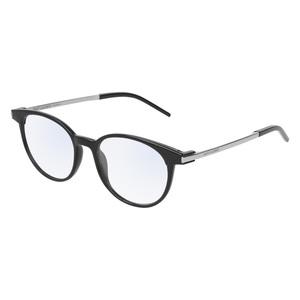Occhiale da vista Saint Laurent SL 229 Colore 001-black-silver-transparente 50