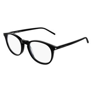 Occhiale da vista Saint Laurent SL 106 Colore 008-black-black-transparente 48