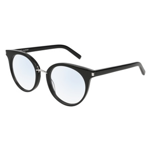 Occhiale da vista Saint Laurent SL 221 Colore 002-black-black-transparente 51