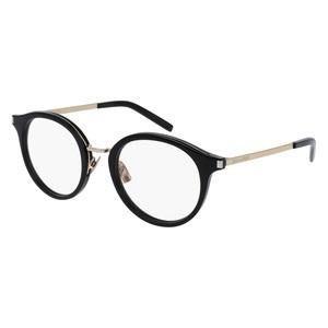 Occhiale da vista Saint Laurent SL 91 Colore 005-black-gold-transparente 49