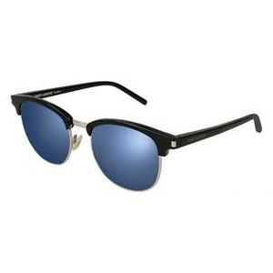 Occhiale da sole Saint Laurent SL 108 Colore 004-black-black-blue-52