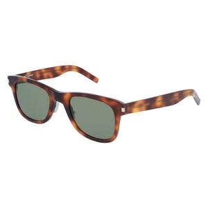 Occhiale da sole Saint Laurent SL 51 Slim Colore 002-havana-havana-green-50