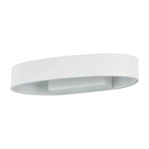 LAMPADA DA PARETE ZED AP1 OVAL BIANCO