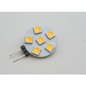 LED GETTONE G4 1,2W - LAMPADINA  LED GETTONE  ATTACCO G4 (BISPINA) 1,2W = 15W LUCE CALDA 3000K 150lm