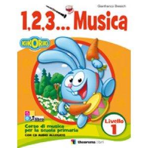 1,2,3... MUSICA LIVELLO 1 + CD