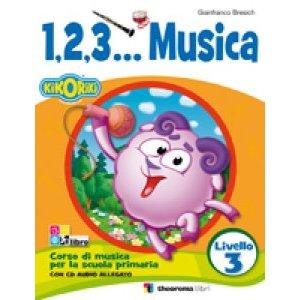 1,2,3… MUSICA LIVELLO 3 + CD