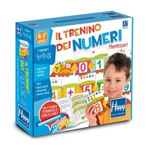 Il trenino dei numeri Montessori