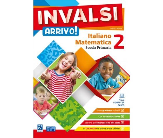 Cartellina INVALSI Arrivo! - Italiano + Matematica - Classe 2
