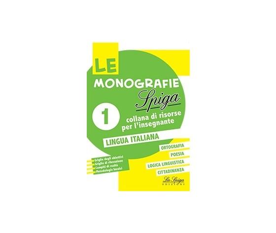 LE MONOGRAFIE LINGUA ITALIANA 1