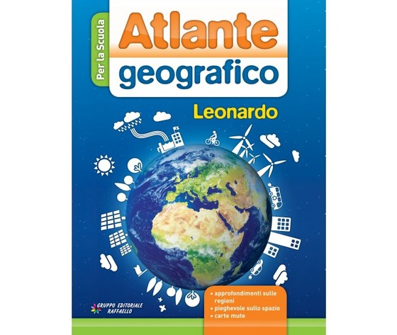 Atlante geografico Leonardo