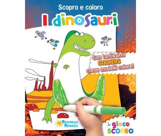 Scopro e coloro i dinosauri