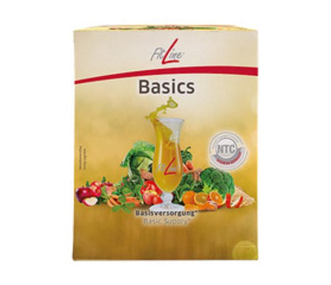 BASICS      Fibre di frutta, verdure e vegetali - curcuma e fermenti lattici